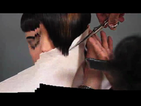 How-To Bevel Fringe with a Flat Iron