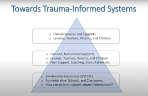 "Screenshot of ""Towards Trauma-Informed Systems"" slide from Mark Nagasawa presentation"