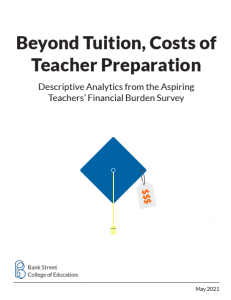 Beyond Tuition, Costs of Teacher Preparation cover