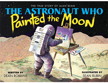blog post of the astronaut who painted the moon.