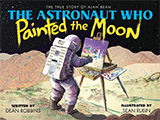 thumbnail of the astronaut who painted the moon.