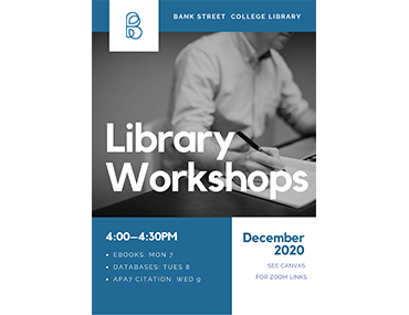 library workshop poster