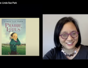 Linda Sue Park presents at BookFest @ Bank Street 2020