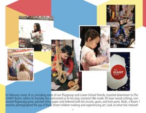 screenshot of Reimagining Art Social Story