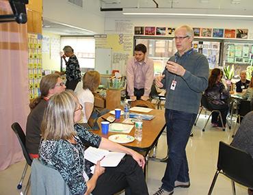 PEN Conference classroom