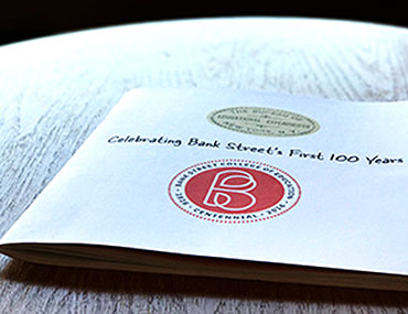 Bank Street's centennial book is available at the Bank Street Bookstore