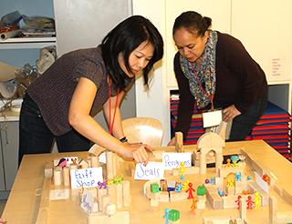 Workshop at Bank Street's Kindergarten Conference 2017