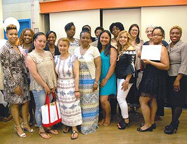 Guttman Center's inaugural class graduates