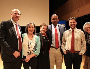 ank Street faculty members join Dr. Adele Diamond at the Tabas Auditorium