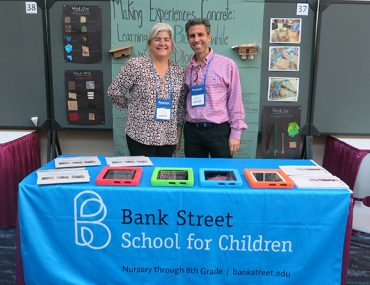 Gregory David and Maria Richa at the 95th annual National Council for the Social Studies (NCSS) conference in New Orleans.