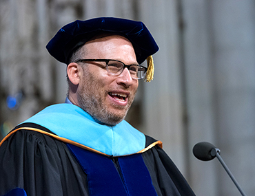 Bank Street's president at commencement