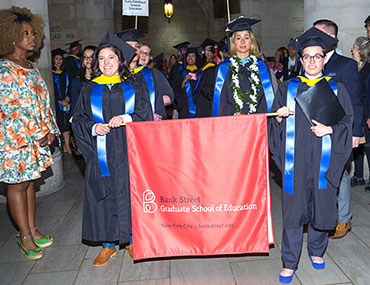 Bank Street commencement 2018