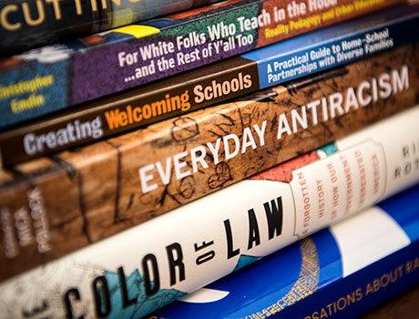 Books used at the Center for Culture, Race & Equity
