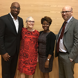 Kwame Alexander, Cecelia Traugh, Wendi Williams, and Shael Polakow-Suransky