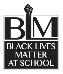 Black Lives Matter at School logo