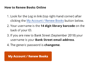 library-account-login-details
