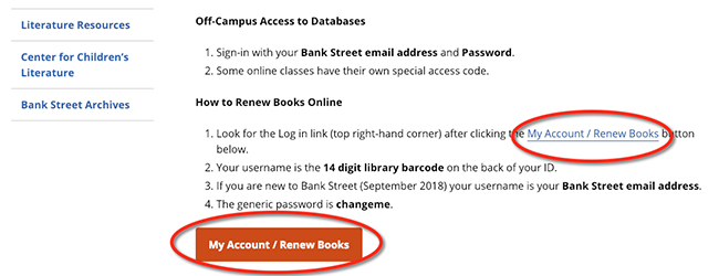 How to change library password
