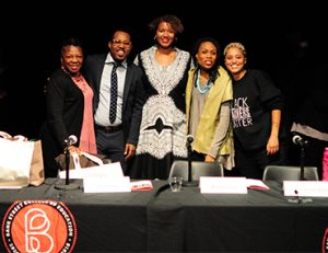 Second panel at Black Lives Matter at School Event