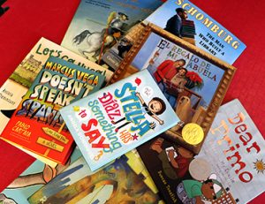 Latinx children's books from the conference