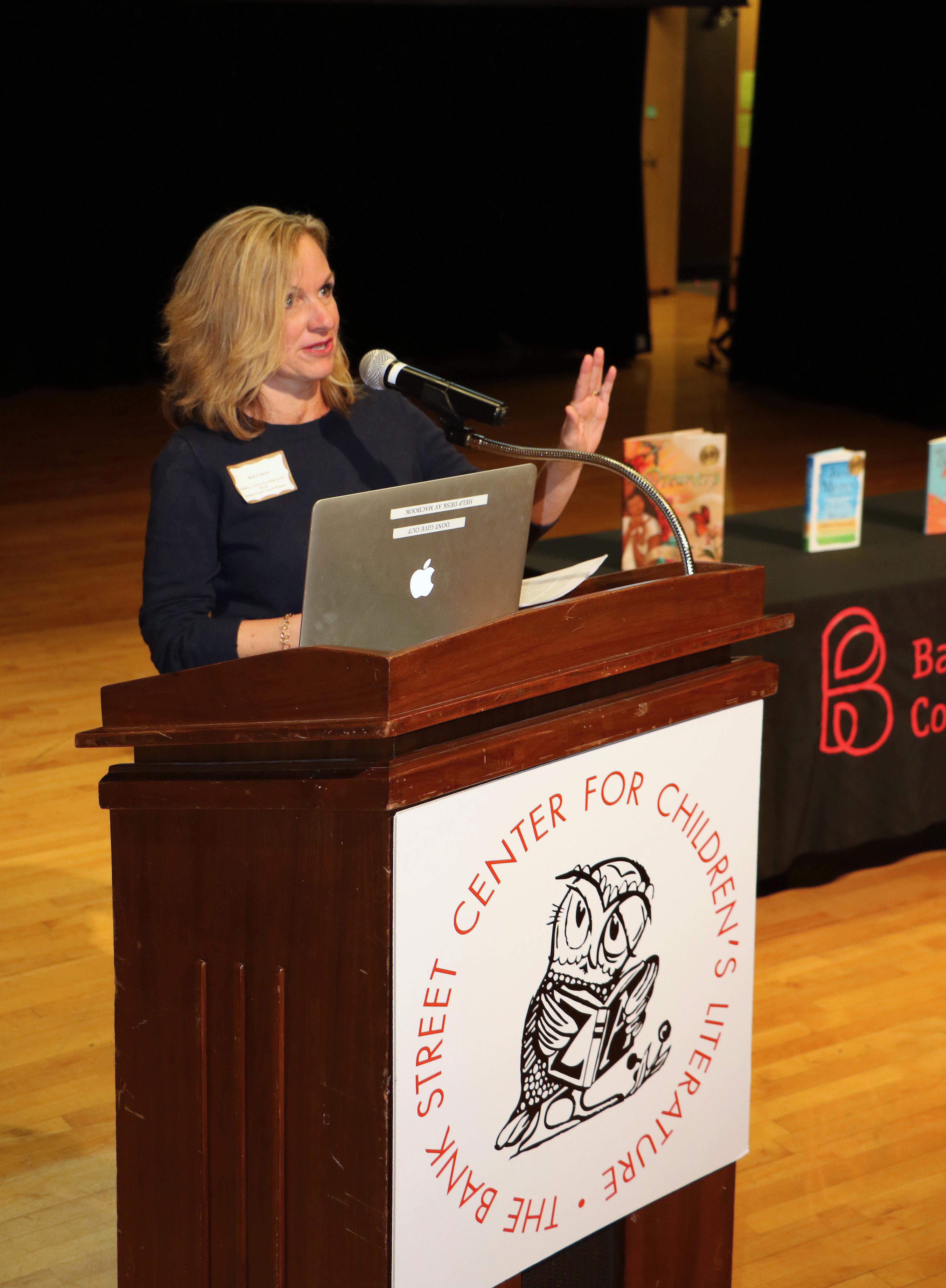 Author Deb Caletti