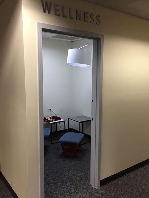 The open Wellness Room
