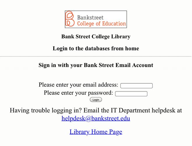 login from home pop-up window