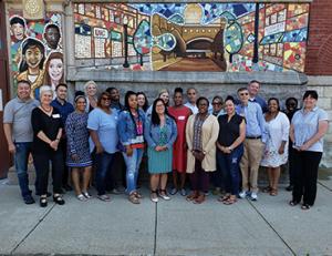 Chicago Public Schools group at MFA Institute