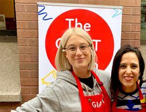 The GIANT Room Founders Jessica Mezei and Azadeh Jamalian