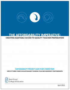 The Affordability Imperative: Creating Equitable Access to Quality Teacher Preparation