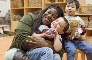 Infant and family development starts with joyful activities