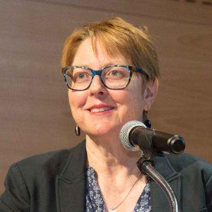 Sharon Ryan during Niemeyer Series lecture