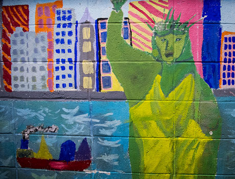 School for Children mural