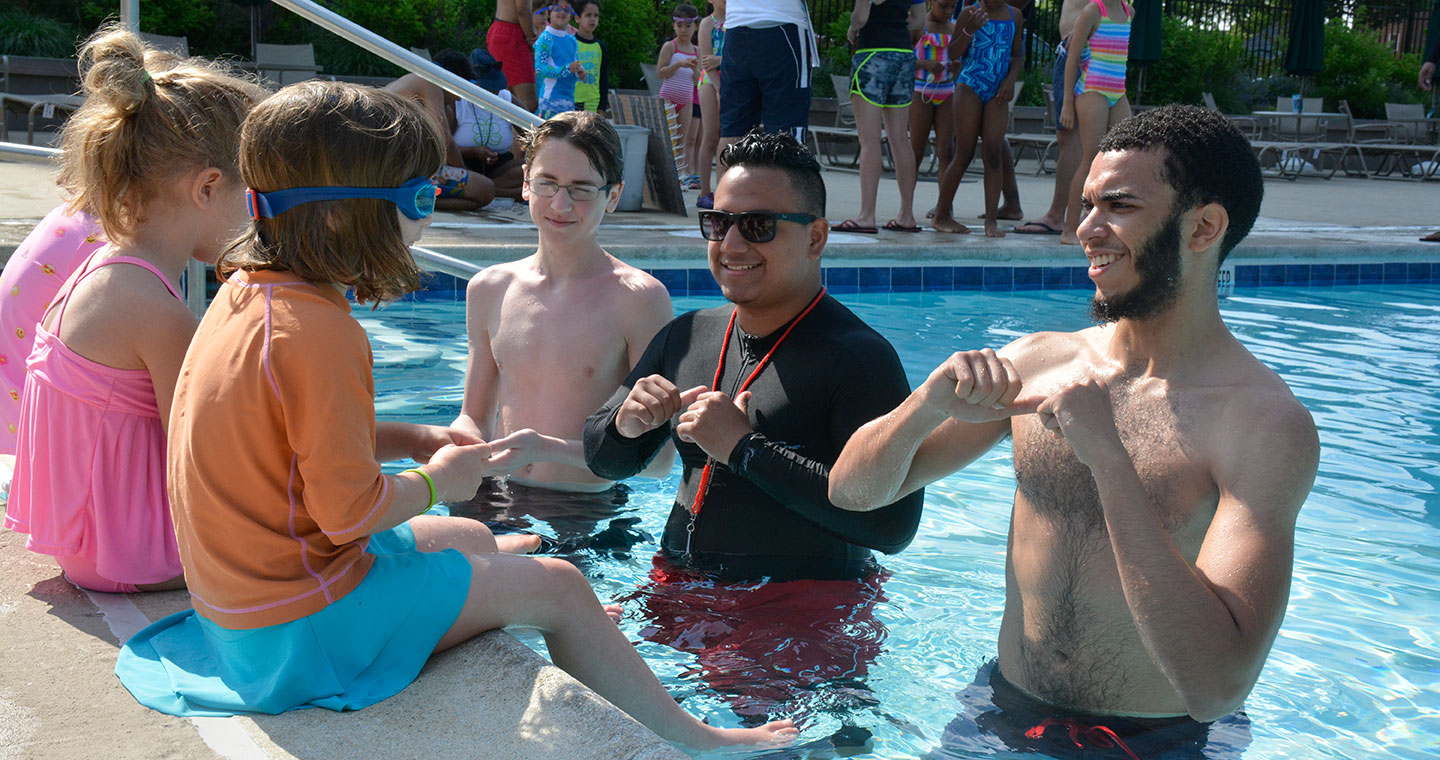 Summer camp swim additional 2 bank street school for - Deans community high school swimming pool ...