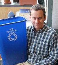 Ted Wells recycles