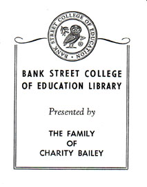 Charity Bailey Bookplate