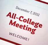 All College Meeting