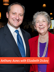 Anthony Asnes and Elizabeth Dickey
