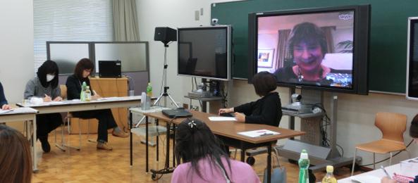 Deb Vilas Teaches via Skype