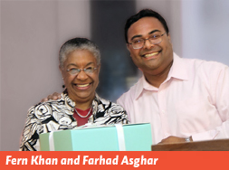 Fern Khan and Farhad Asghar