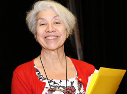 Margaret Martinez-DeLuca at the 18th Annual Biber Lecture