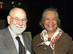 Eric Carle with Dorothy Carter