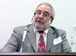 Dean Jon Snyder at a congressional briefing on educative assessment