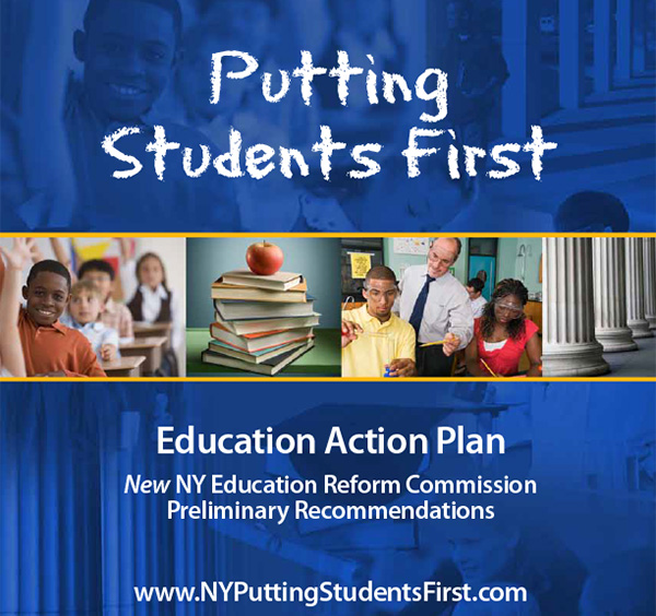 New NY Education Reform Commission Initial Report