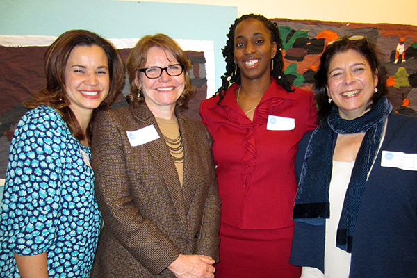NECCS: Dina Velez, Virginia Roach, Davia Franklyn, and Lynne Einbender