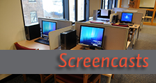 Library Screencasts