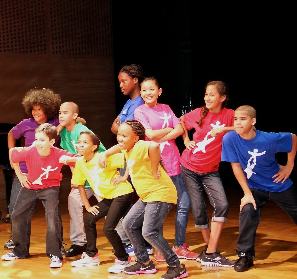Kids from NDI perform at the Biber Lecture