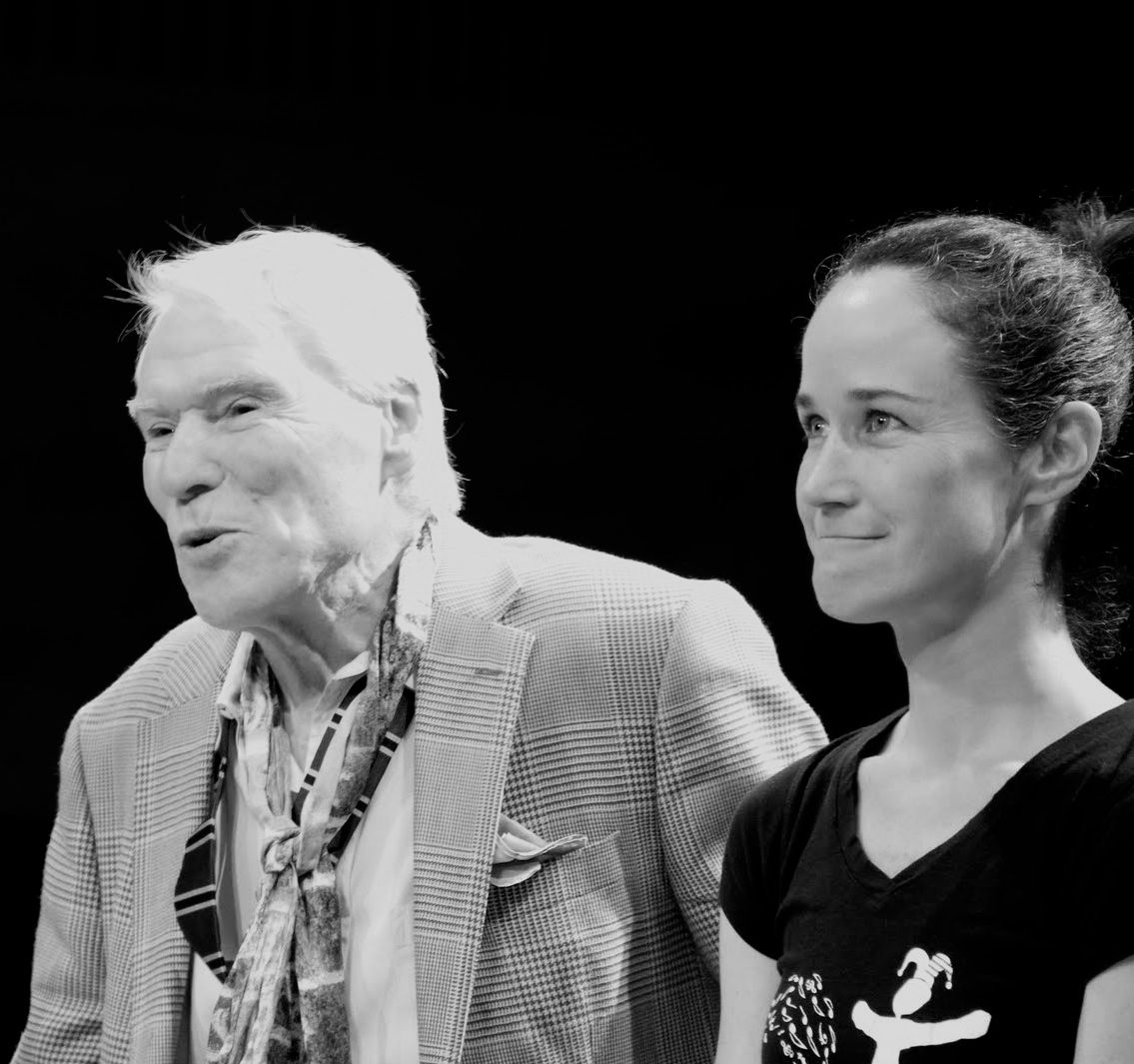 Jacques D'Amboise with NDI Master Teaching Artist Mary Kennedy
