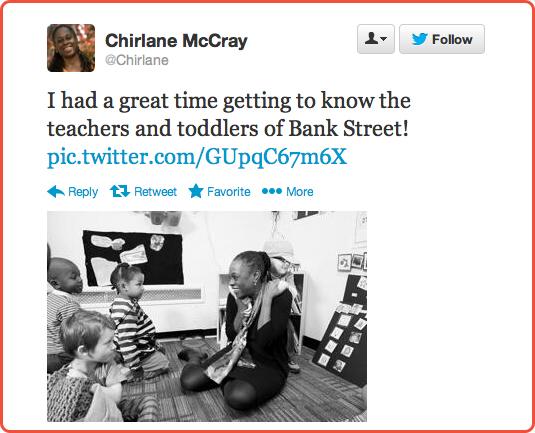 Chirlane McCray on Twitter