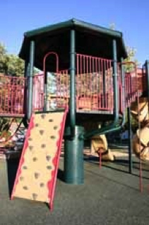 Figure 1. Watchtower play structure in my neighborhood