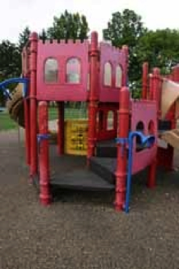 Figure 2. Another example of a centralized play area
